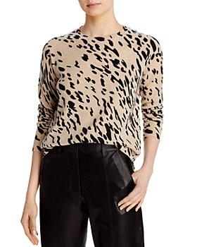 AQUA - Animal Print Sweater - 100% Exclusive