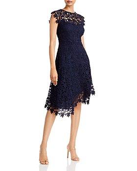 Eliza J - Asymmetric Lace Dress