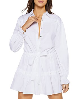 Ramy Brook - Josephine Tiered Mini Shirtdress - 100% Exclusive