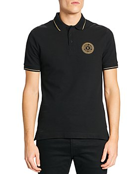Versace Jeans Couture - V-Emblem Embroidered Slim Fit Polo