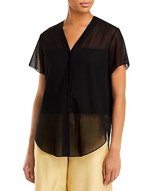 Theory Clean Short Sleeve Shirt