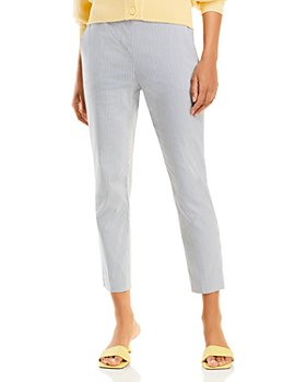 Theory - Cotton Blend Cropped Pants