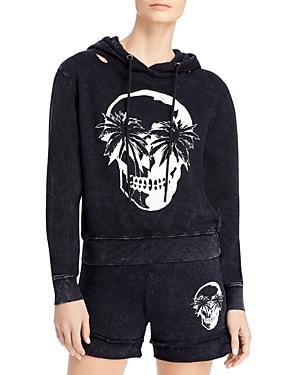 Palm Skull Hoodie