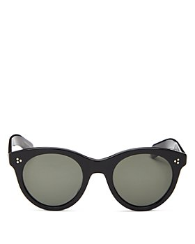 Oliver Peoples - Women's Round Sunglasses, 49mm
