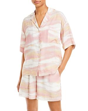 Camo Wave Short Sleeve Shirt