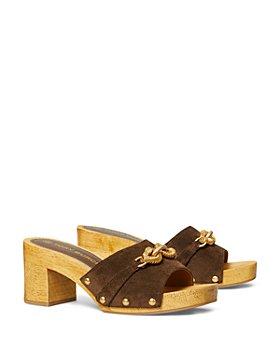 Tory Burch - Women's Jessa High Heel Clog Sandals