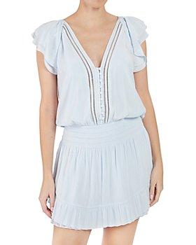Ramy Brook - Lola Flutter Sleeve Mini Dress