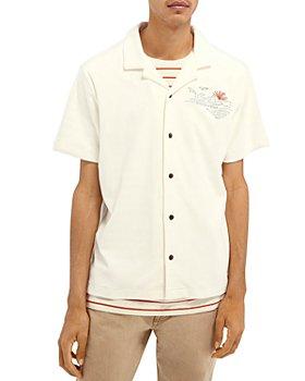 Scotch & Soda - Terry Hawaiian Regular Fit Shirt