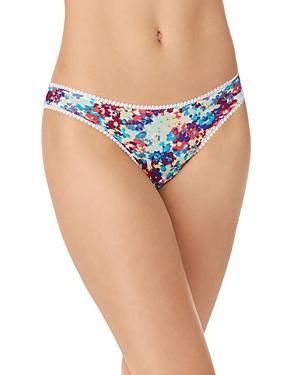 On Gossamer Printed Mesh Hip Bikini