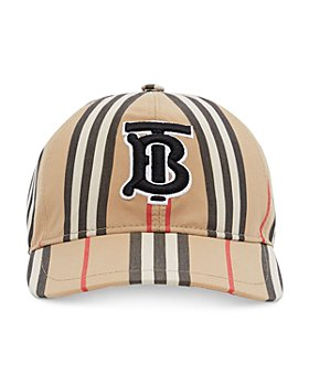 Burberry - Striped Baseball Hat