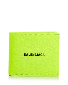Balenciaga - Logo Leather Bifold Wallet