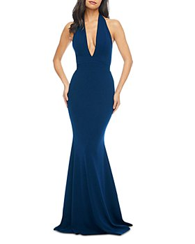 Dress the Population - Camden Plunging Gown