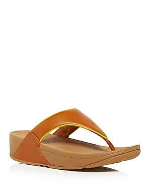 Women's Lulu Pop Thong Wedge Sandals