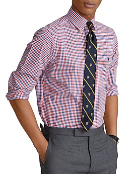 Polo Ralph Lauren - Plaid Classic Fit Poplin Button-Down Shirt
