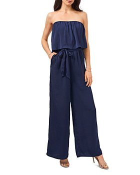 1.STATE - Strapless Ruffled Jumpsuit