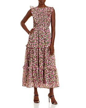Banjanan - Iris Tiered Ruffle Trim Dress