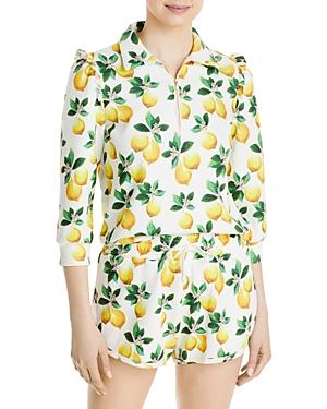 Danielle Lemon Print Sweatshirt