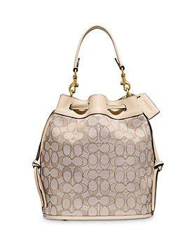COACH - Field Small Signature Jacquard Bucket Bag