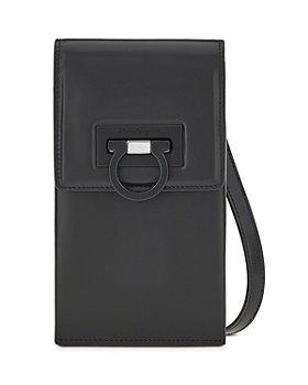 Salvatore Ferragamo - Leather Phone Crossbody