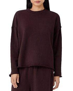 Eileen Fisher - Crewneck Boxy Sweatshirt