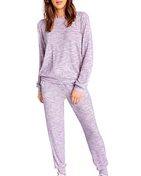 PJ Salvage - Spaced Out Long-Sleeve Top, Shorts & Jogger Pants