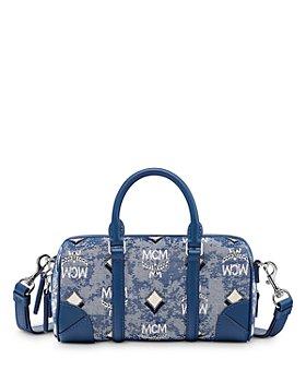 MCM - Vintage Jacquard Mini Boston Bag