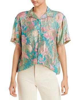 Hemant and Nandita - Printed Oversized Shirt
