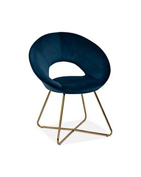 Sparrow & Wren - Charlie Velvet Accent Chair