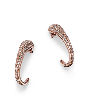 Bloomingdale's Diamond Ear Climber in 14K Rose Gold, 0.48 ct. t.w. - 100% Exclusive