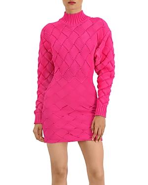 Herve Leger Chunky Weave & Bandage Mini Dress