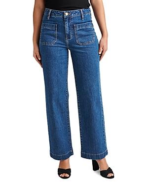 Sophia Ankle Wide Leg Jeans in Berkeley