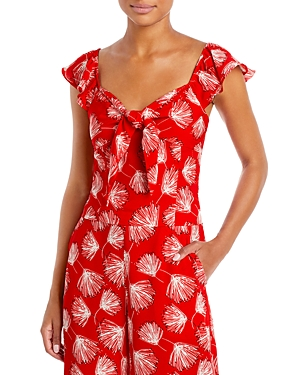 Lana Floral Tie Top (44% off) Comparable value $62.50