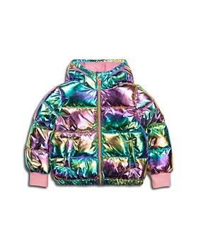 BILLIEBLUSH - Girls' Metallic Channel Quilt Jacket - Little Kid