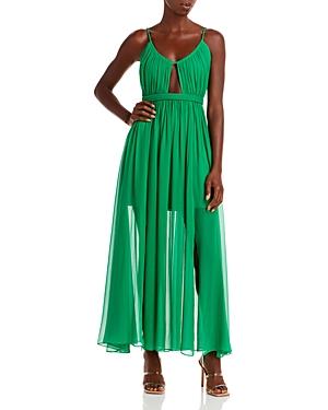 Tamar Cutout Slit Maxi Dress