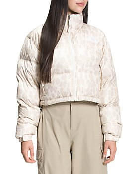 The North Face® - Nuptse Printed Cropped Down Jacket