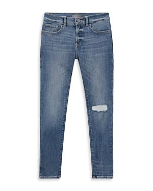 DL1961 Boys' Zane Super Skinny Distressed Jeans - Big Kid