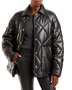 IRO - Shirin Quilted Leather Jacket