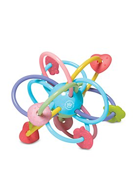 Manhattan Toy - Manhattan Ball Teether and Rattle Toy - Ages 0+