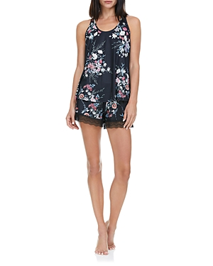 Stephanie Ii Printed Knit Cami Pajama Set