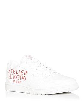 Valentino Garavani - Men's Atelier Logo Low Top Sneakers