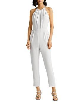 Ralph Lauren - Embellished Strap Jumpsuit