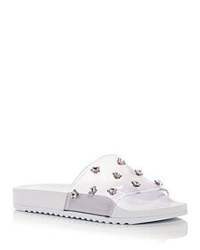 Sophia Webster - Women's Dina Embellished Slide Sandals