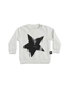 NUNUNU - Unisex Falling Star Cotton Sweatshirt - Baby