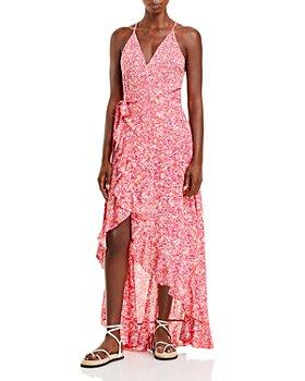 Poupette St. Barth - Tamara Wrap Front Maxi Dress