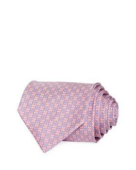 Salvatore Ferragamo - Gancini Neat Silk Classic Tie