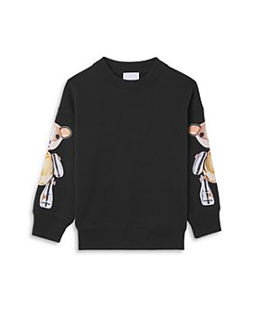 Burberry - Girls' Thomas Bear Sleeve Sweatshirt - Little Kid, Big Kid