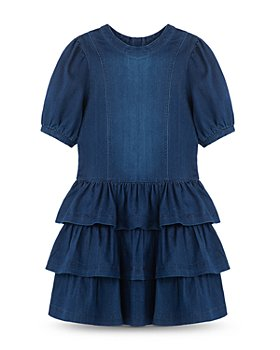 Habitual Kids - Girls' Drop Waist Ruffled Dress - Big Kid