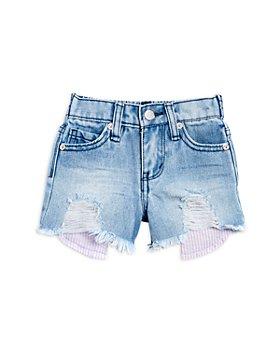 Habitual Kids - Girls' Distressed Cutoff Denim Shorts - Little Kid