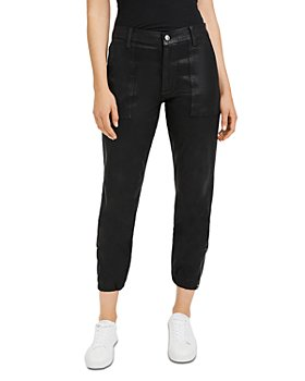 7 For All Mankind - Coated Crop Jogger Pants