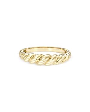 Zoe Lev 14K Yellow Gold Gradient Twist Ring